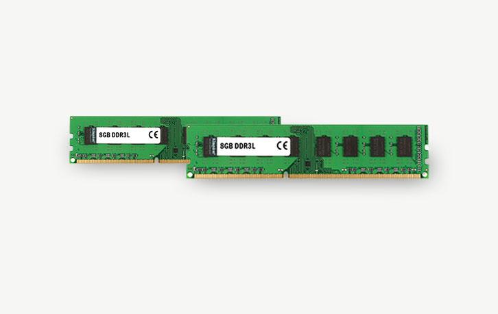 8GB DDR3L (2 X 8GB), refurbished werkgeheugen