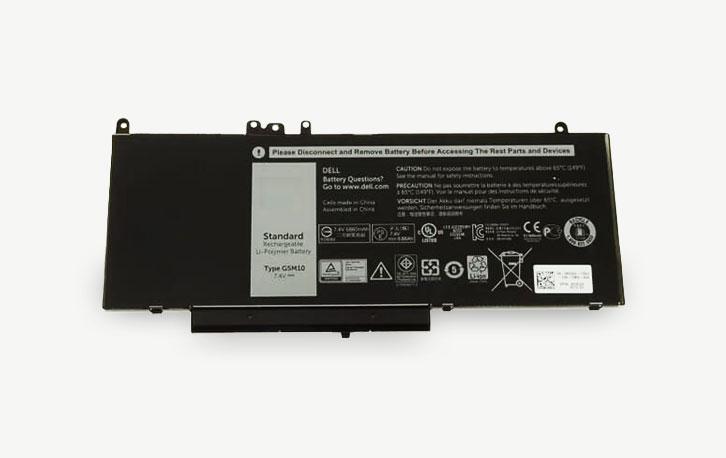 Accu voor de Dell Latitude E5X50 series en E5470