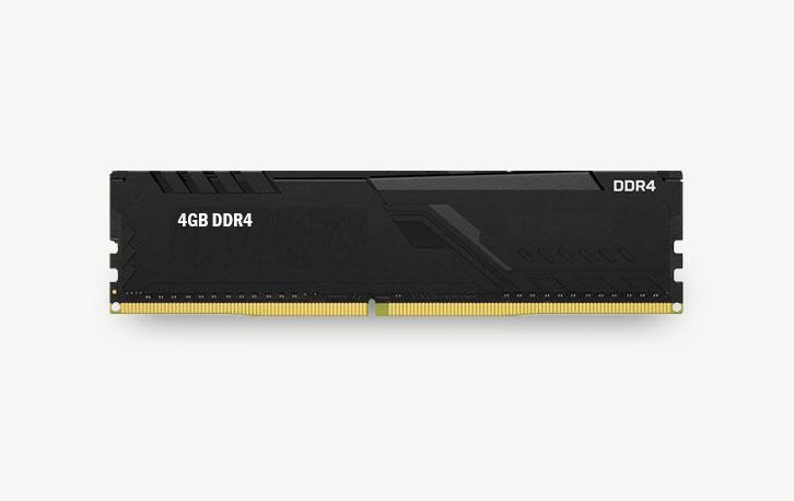 4GB DDR4, refurbished werkgeheugen