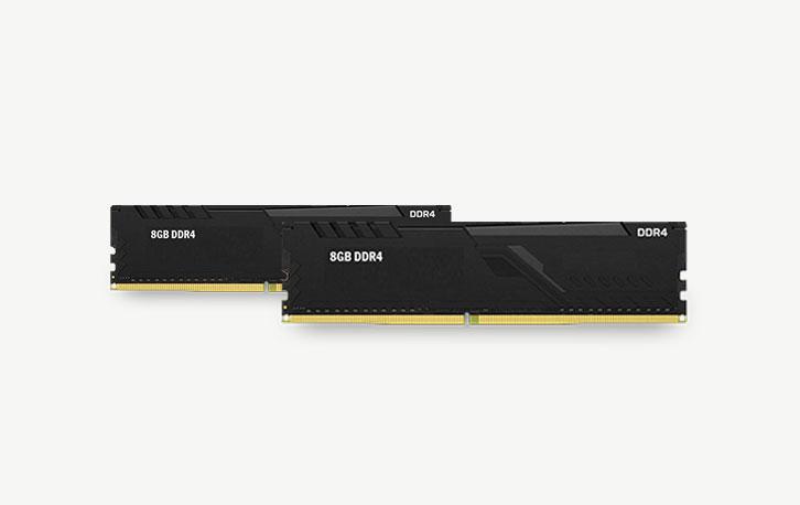 16GB DDR4 (2 X 8GB), refurbished werkgeheugen